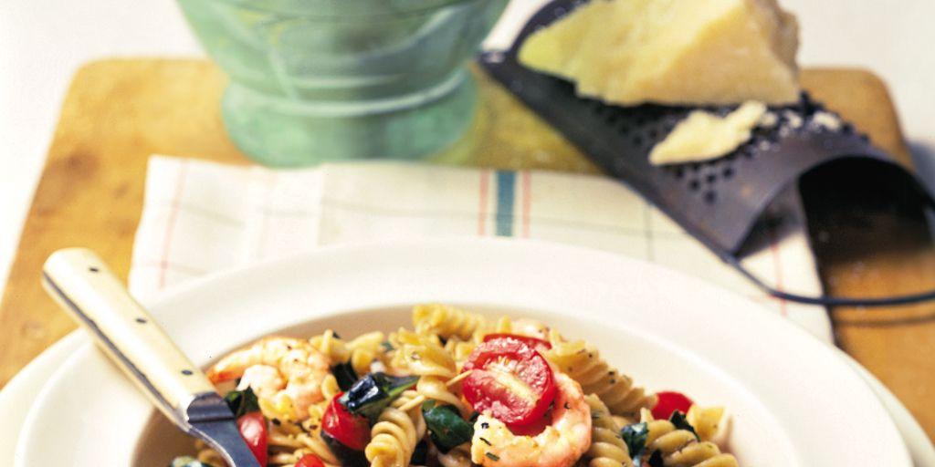 Italian Shrimp And Pasta Salad