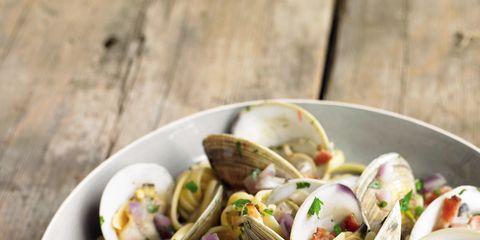 Food, Cuisine, Ingredient, Recipe, Seafood, Pasta, Staple food, Dish, Produce, Snack,