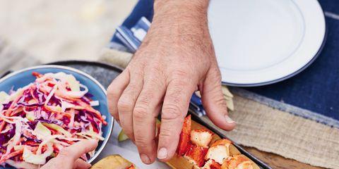 Finger, Food, Cuisine, Finger food, Dish, Ingredient, Baked goods, Dishware, Hot dog, Recipe,