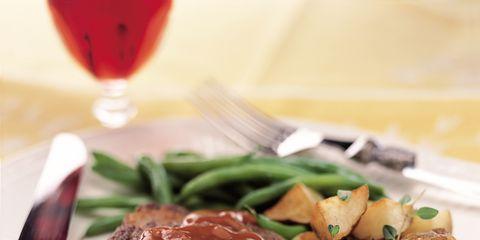 Food, Ingredient, Cuisine, Stemware, Drink, Tableware, Beef, Recipe, Kitchen utensil, Meat,
