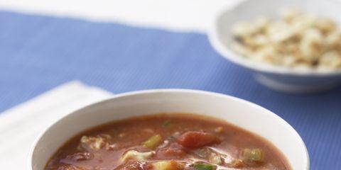 Food, Cuisine, Soup, Serveware, Dish, Dishware, Ingredient, Tableware, Recipe, Bowl,