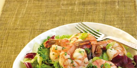 Food, Arthropod, Cuisine, Ingredient, Seafood, Recipe, Dishware, Tableware, Shrimp, Leaf vegetable,