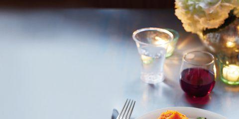Dishware, Food, Serveware, Tableware, Plate, Meal, Drinkware, Kitchen utensil, Dish, Cutlery,
