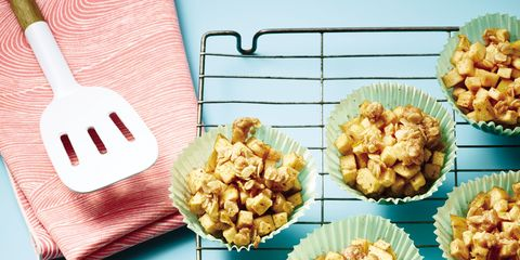 Cuisine, Food, Finger food, Recipe, Dish, Plate, Kitchen utensil, Garnish, Dishware, Peach,