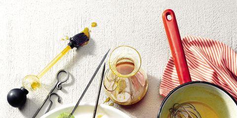 Dishware, Yellow, Serveware, Food, Tableware, Cuisine, Meal, Ingredient, Kitchen utensil, Dish,