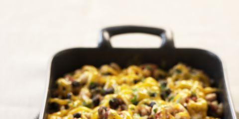 Food, Yellow, Ingredient, Cuisine, Recipe, Cookware and bakeware, Cooking, Meal, Comfort food, Plastic,