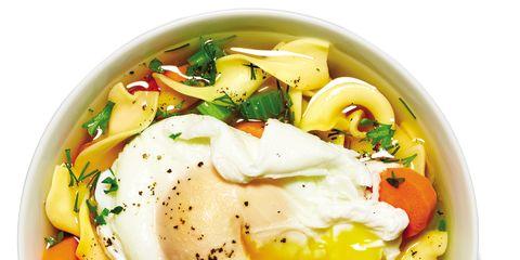 Food, Cuisine, Ingredient, Dish, Recipe, Breakfast, Egg yolk, Vegetable, Dishware, Produce,