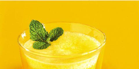 Drink, Food, Juice, Vegetable juice, Ingredient, Liquid, Tableware, Cocktail garnish, Garnish, Drinking straw,