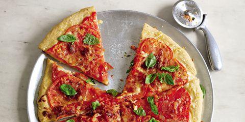 Food, Cuisine, Dish, Ingredient, Plate, Recipe, Pizza, Dishware, Tableware, Baked goods,