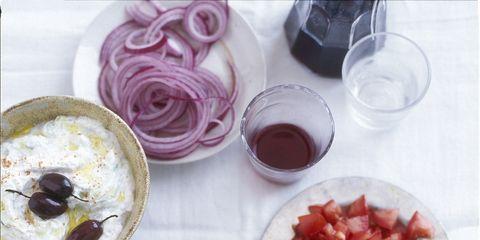 Food, Tableware, Dishware, Drink, Cuisine, Drinkware, Skewer, Serveware, Meal, Finger food,