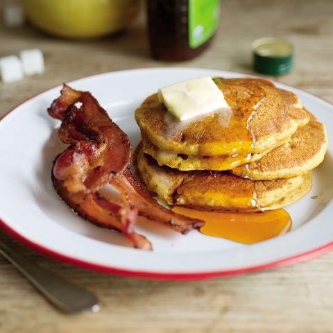 Best Pumpkin Pancakes Recipe - Prevention.com