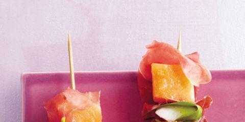 Food, Finger food, appetizer, Cuisine, Peach, Ingredient, Garnish, Recipe, Produce, Dish,