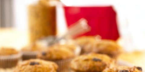 Food, Dessert, Baked goods, Ingredient, Baking cup, Muffin, Cooking, Snack, Recipe, Baking,