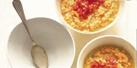 Food, Cuisine, Dish, Ingredient, Recipe, Spoon, Kitchen utensil, Custard, Bowl, Condiment,