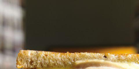 Finger food, Sandwich, Yellow, Food, Cuisine, Ingredient, Baked goods, Dish, Breakfast, Amber,