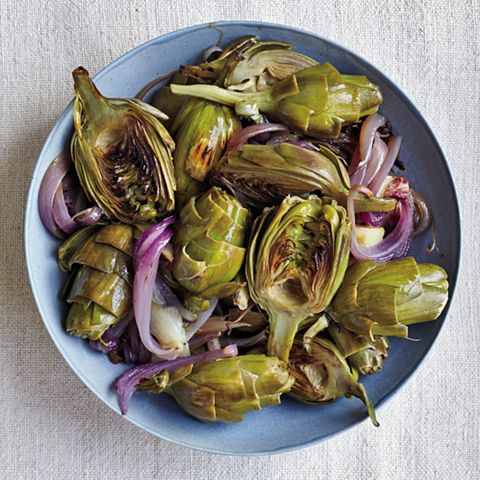 artichoke, food, vegetable, cynara, ingredient, thistle, plant, dish, carciofi alla giudia, produce,