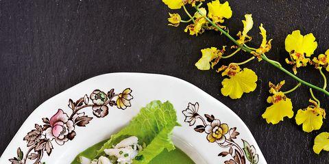 Serveware, Dishware, Cuisine, Porcelain, Tableware, Food, Dish, Plate, Kitchen utensil, Ceramic,
