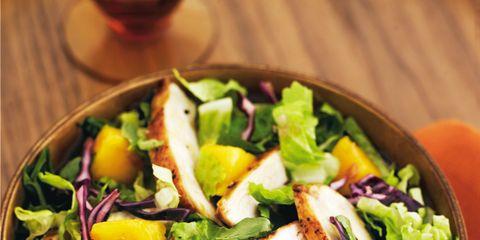 Food, Salad, Cuisine, Ingredient, Leaf vegetable, Vegetable, Produce, Recipe, Garden salad, Alcoholic beverage,