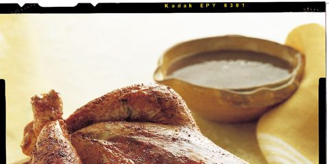 Food, Hendl, Turkey meat, Chicken meat, Ingredient, Roast goose, Recipe, Meat, Cooking, Tableware,