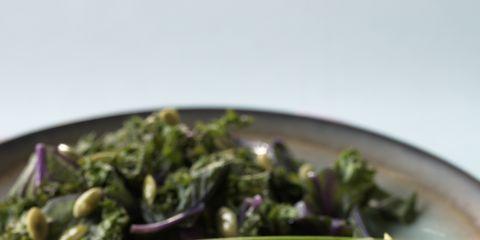 Food, Ingredient, Produce, Dishware, Plate, Citrus, Leaf vegetable, Lemon, Fruit, Tableware,