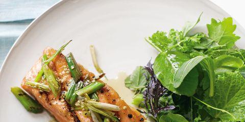 Food, Ingredient, Dishware, Leaf vegetable, Plate, Tableware, Serveware, Vegetable, Cuisine, Fines herbes,