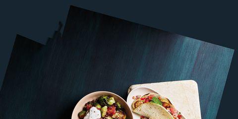 Cuisine, Food, Dish, Tableware, Dishware, Leaf vegetable, Meal, Recipe, Ingredient, Fast food,