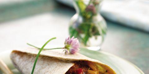 Cuisine, Food, Serveware, Dish, Dishware, Sandwich wrap, Plate, Ingredient, Recipe, Kati roll,