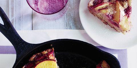 Food, Purple, Magenta, Violet, Ingredient, Kitchen utensil, Dish, Recipe, Frying pan, Plate,