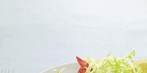 Food, Dishware, Egg yolk, Fried egg, Ingredient, Egg white, Kitchen utensil, Cutlery, Cuisine, Tableware,