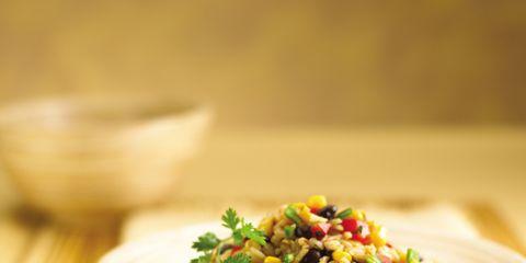 Food, Cuisine, Ingredient, Produce, Corn salad, Serveware, Salad, Dishware, Mixture, Vegetarian food,