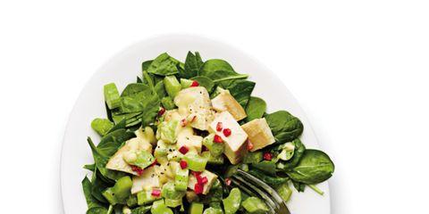 Food, Salad, Vegetable, Ingredient, Leaf vegetable, Produce, Dishware, Cuisine, Recipe, Garden salad,