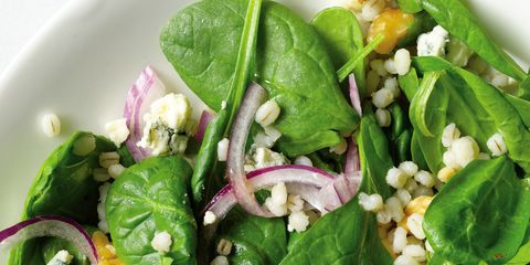 Food, Leaf vegetable, Ingredient, Vegetable, Salad, Produce, Cuisine, Recipe, Spinach salad, Vegetarian food,