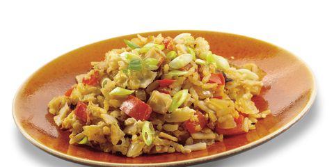 Food, Cuisine, Ingredient, Serveware, Tableware, Rice, Recipe, Dish, Produce, Dishware,