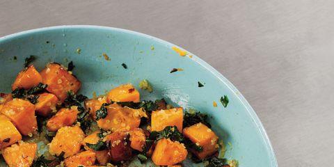 Food, Dishware, Tableware, Produce, Root vegetable, Orange, Ingredient, Recipe, Cuisine, Serveware,