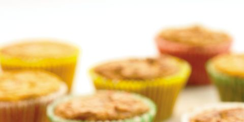 Food, Baked goods, Dessert, Baking cup, Ingredient, Recipe, Dish, Muffin, Snack, Cooking,
