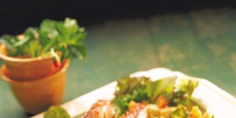 Food, Dishware, Ingredient, Cuisine, Tableware, Dish, Meat, Plate, Serveware, Garnish,