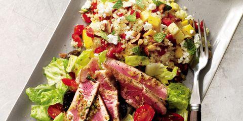 Salad, Food, Leaf vegetable, Vegetable, Cuisine, Garden salad, Dishware, Produce, Ingredient, Tableware,