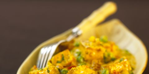 Food, Cuisine, Recipe, Dish, Ingredient, Paneer, Vegetarian food, Dishware, Comfort food, Garnish,