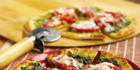 Food, Cuisine, Finger food, Dish, Baked goods, Ingredient, Recipe, Pizza, Plate, Kitchen utensil,