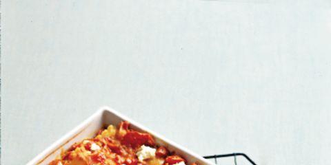 Food, Ingredient, Recipe, Dish, Casserole, Cuisine, Comfort food, Rectangle, Bread pudding, Cassolette,