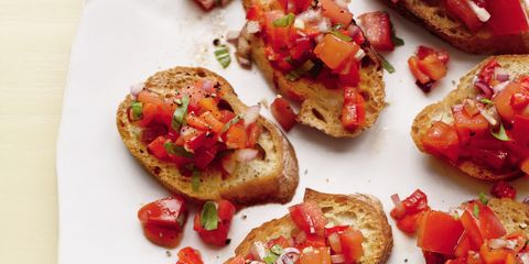 Food, Red, Ingredient, Cuisine, Finger food, Recipe, Dish, Sun-dried tomato, Fast food, appetizer,