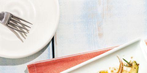 Food, Dishware, Serveware, Tableware, Kitchen utensil, Meal, Cutlery, Plate, Cuisine, Fork,