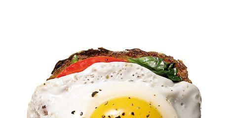 Egg yolk, Fried egg, Food, Ingredient, Egg white, Meal, Breakfast, Dish, Egg, Fast food,