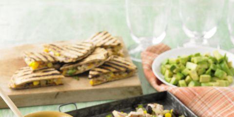 turkey-and-bean-quesadillas