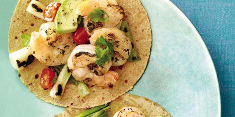 Food, Cuisine, Dish, Dishware, Korean taco, Recipe, Finger food, Plate, Tableware, Corn tortilla,