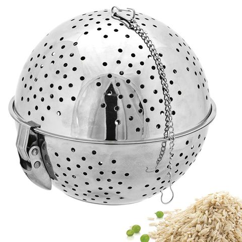 Cocinar arroz: escurridor bola