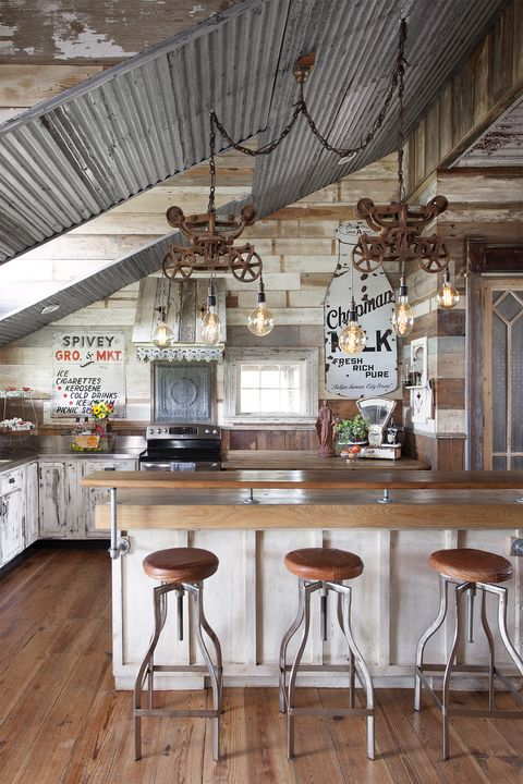 kitchen-lighting-ideas-reclaimed-rustic