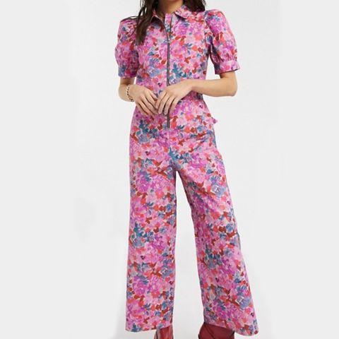 jumpsuit met bloemenprint   asos