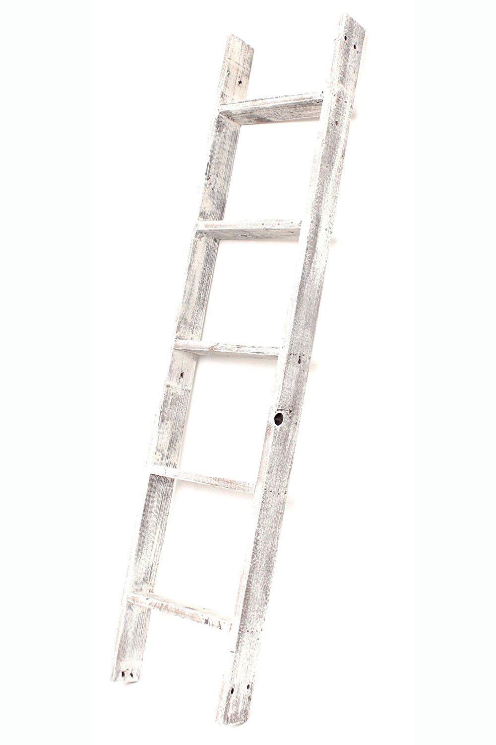 relcaimed wood ladder