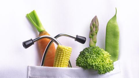 recommended 5 a day vegetables in doctors pocket